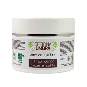 ecomama - fango corpo anticellulite caffe e cacao - officina umbra