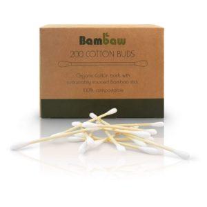 ecomama - Cotton fioc biodegradabili in bambù - bambaw