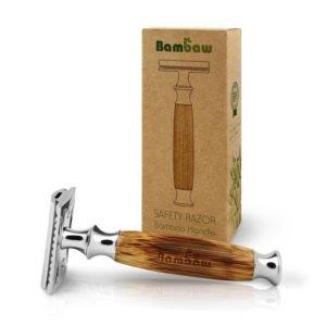 ecomama - rasoio ecologico in bambù - bambaw