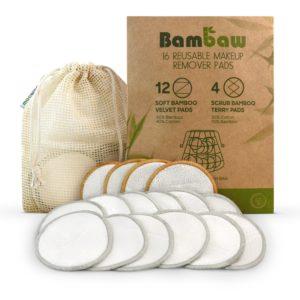 ecomama - dischetti struccanti in bambù bambaw