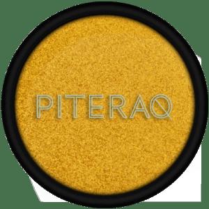 Ombretto di Piteraq oro caldo perlato. Ecomama