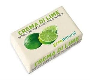 Saponetta vegetale al lime di greenatural. Ecomama