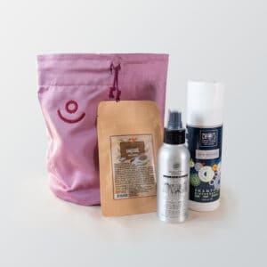 Set biocosmesi di ecomama per capelli lisci