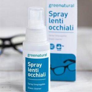 spray detergente ecobio per lenti e occhiali di greenatural. Ecomama