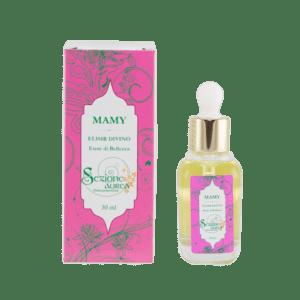mamy, elisir e olio per il massaggio del viso, mysezione aurea, Ecomama