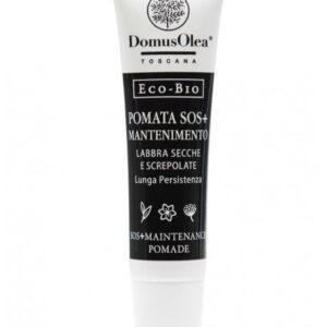 Pomata sos+ mantenimento per labbra secche di domus olea toscana.