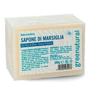 sapone di marsiglia da 300gr di greenatural. Ecomama