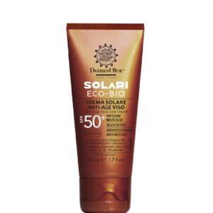 crema solare viso protezione 50 domus olea toscana