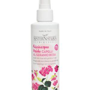 spray risciacquo acido al geranio di maternatura