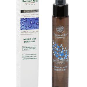 Tonico mist detox antiage specifico per pelle secca, di domus olea toscana.